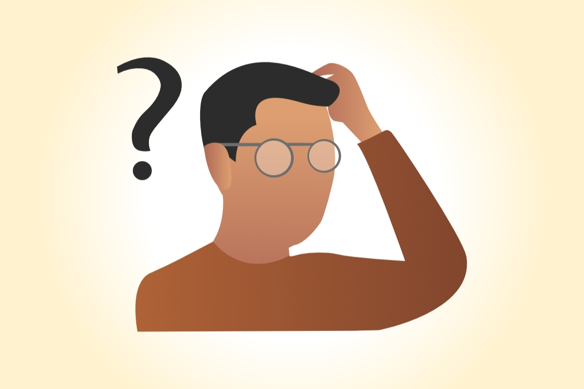 Man With Questions Image