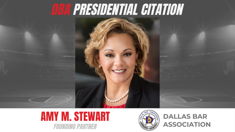 Amy M. Stewart's 'Rona Pep Talk Series Recognized with DBA Presidential Citation