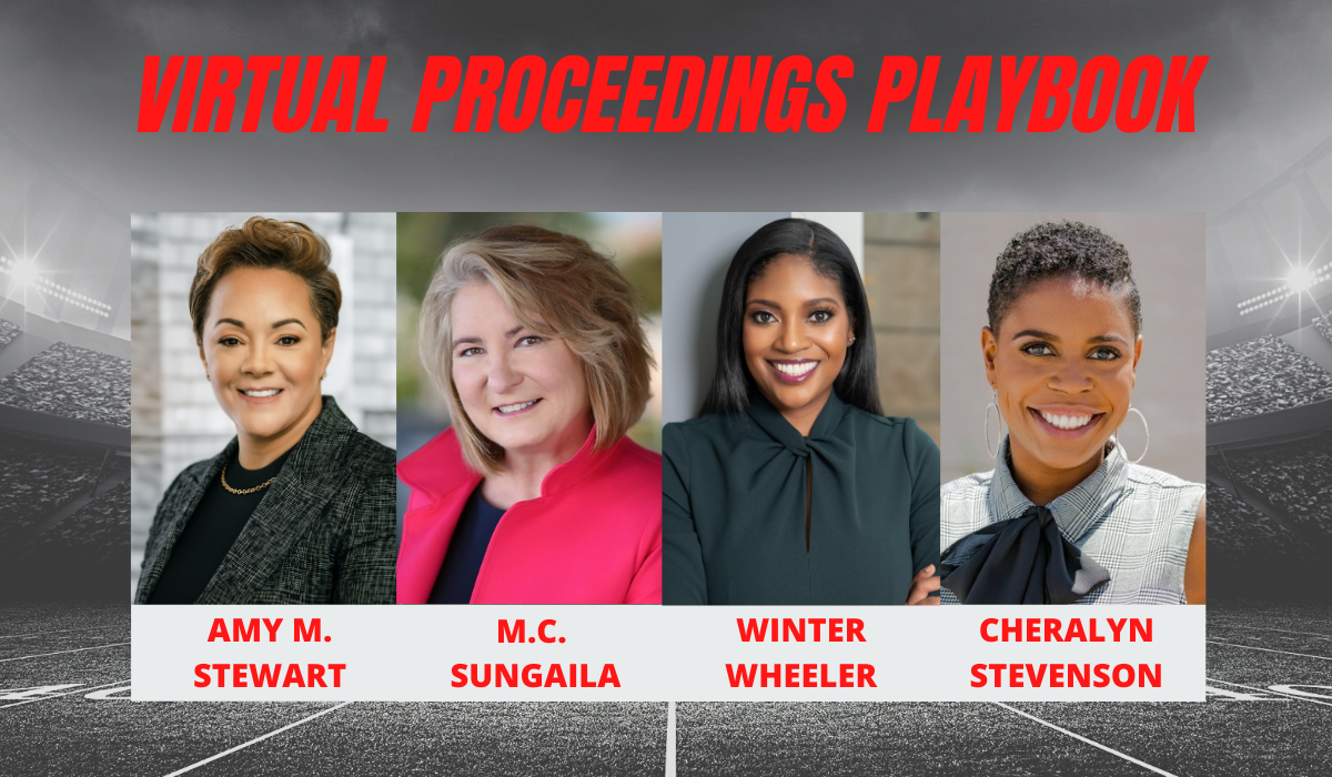 All-Star Female Team Release Virtual Proceedings Playbook